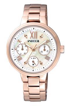 CITIZEN WICCA白蝶貝面板少女系列錶款 / BH7-521-11 - 限時優惠好康折扣