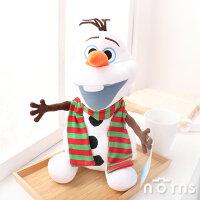 送家人聖誕交換禮物推薦聖誕娃娃到【雪寶娃娃 條紋圍巾12吋】Norns 迪士尼正版授權 冰雪奇緣 FROZEN OLAF 絨毛玩偶玩具 雪人 聖誕節就在Norns推薦送家人聖誕交換禮物