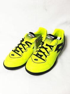 LOTTO樂得男平底足球鞋LZG700XIDJR(黃黑)橡膠大底LTT3417【胖媛的店】