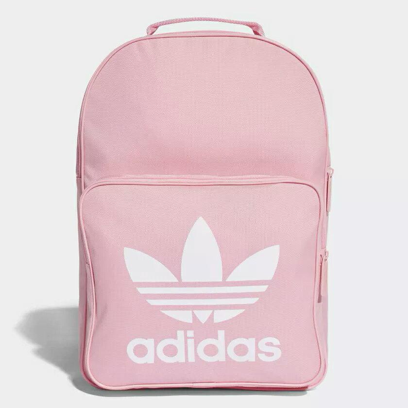 【滿額最高折318】【現貨】Adidas ORIGINALS TREFOIL 背包 後背包 休閒 三葉草 黑 / 粉 【運動世界】 DJ2170 / DJ2173