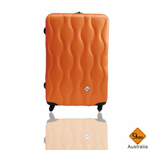 Gate9波西米亞系列ABS霧面28吋限定雙層加大旅行箱 / 行李箱 3