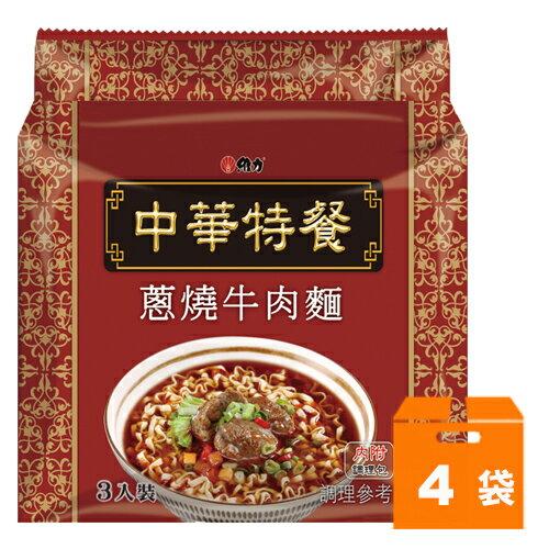 維力 中華特餐 蔥燒牛肉麵 135g (4袋)/箱