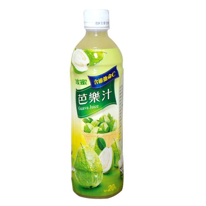 波蜜 芭樂汁飲料 580ml (4入)/組【康鄰超市】