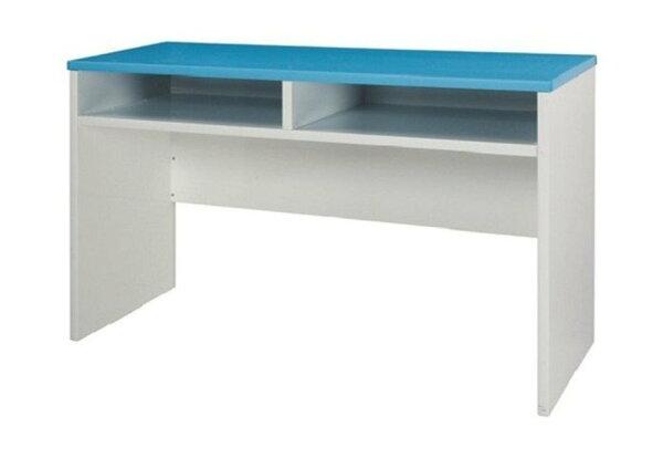 【石川家居】932-20(藍白色)書桌(CT-409)#訂製預購款式#環保塑鋼P無毒防霉易清潔