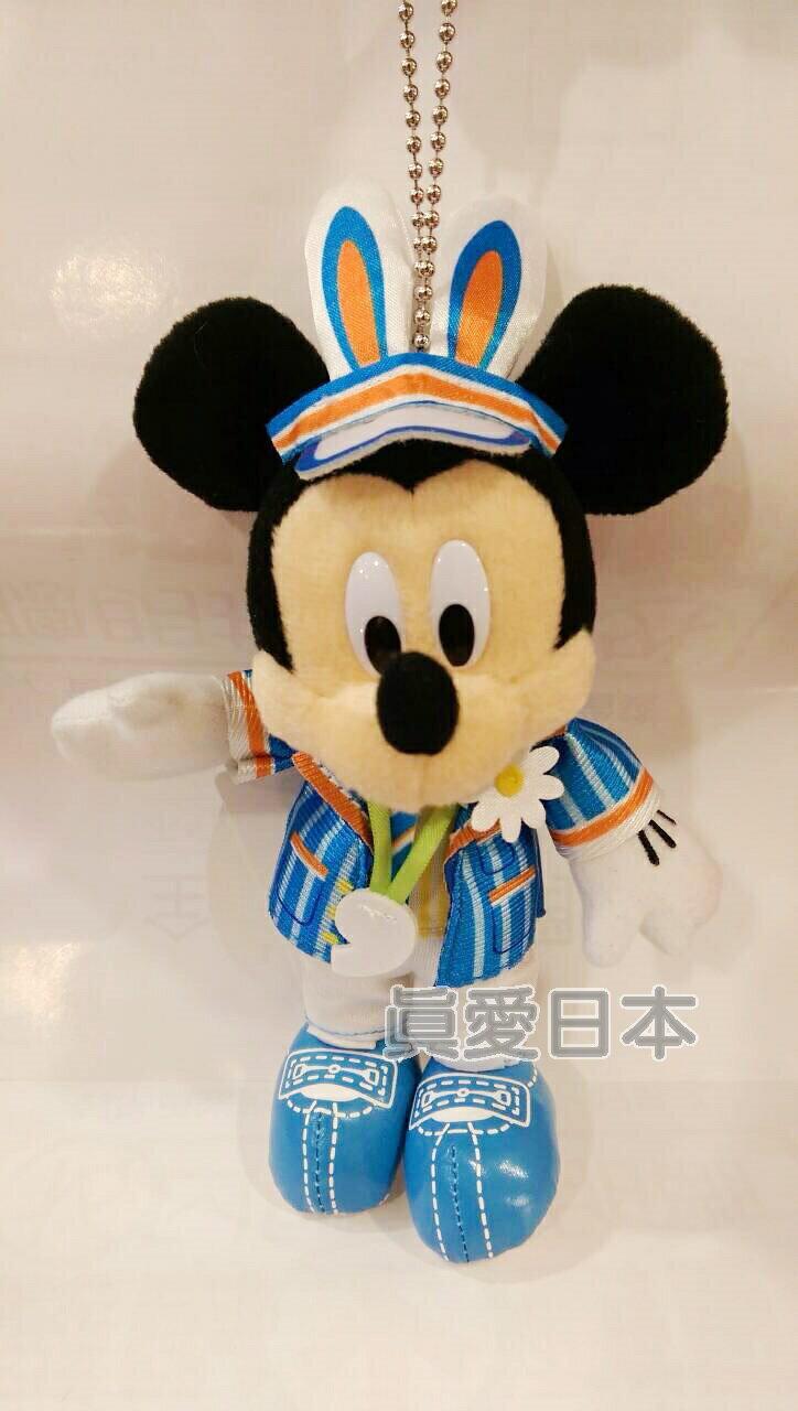 【真愛日本】16042100055樂園紀念站姿別針-復活節米奇 米奇 米妮 迪士尼帶回 吊飾 掛飾 鑰匙圈 娃娃