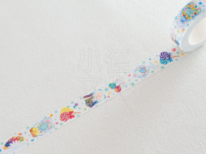 *小徑文化*日本進口 MANET 和紙膠帶Vol.5 - Lollipop 棒棒糖 ( MN-MT071 )