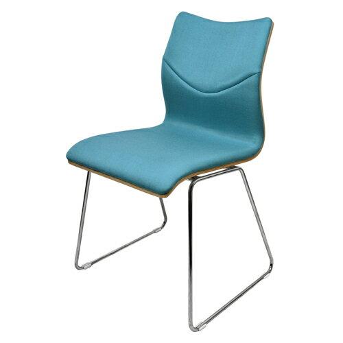 【尚優家居】萊克斯休閒椅/餐椅/辦公椅(藍色)