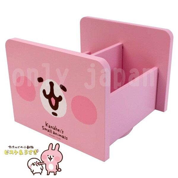 【真愛日本】18051200017旋轉筆筒-大臉兔兔卡娜赫拉兔兔P助收納盒置物盒筆筒筆座木製筆筒