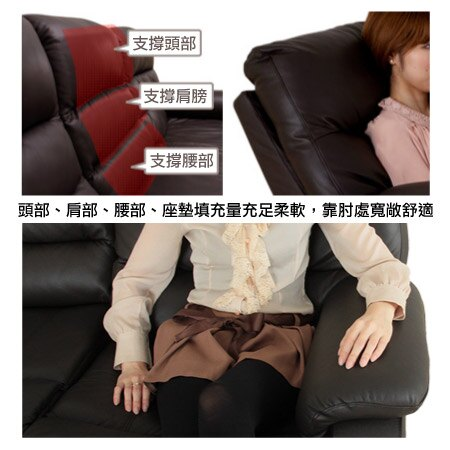 ◎(OUTLET)全皮1人用頂級電動可躺式沙發 BELIEVER2 福利品 NITORI宜得利家居 3