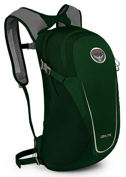 【鄉野情戶外用品店】 Osprey |美國| DAYLITE 13 輕便背包/健行背包 旅行背包 水袋背包 攻頂包-長青綠/Daylite13 【容量13L】