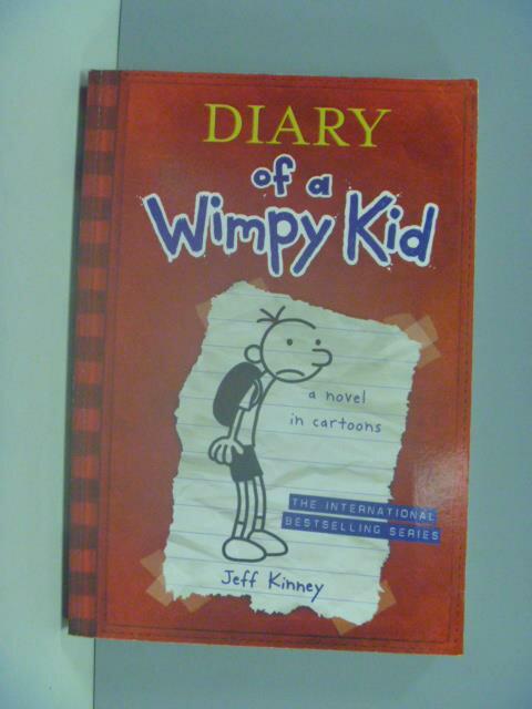 【書寶二手書T1/語言學習_GBF】Diary of a Wimpy Kid: a novel in cartoons_Jeff Kinney