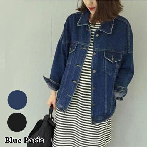 外套 - 衣緣小破壞感雙口袋牛仔長袖外套【29174】藍色巴黎《2色》現貨 + 預購 0