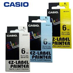 CASIO卡西歐 6mm 色帶 標籤帶 (適用KL-170 Plus 標籤機) 公司貨