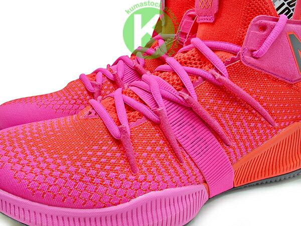 2019 最新 NBA 總冠軍 Kawhi Leonard 強力代言 NEW BALANCE OMN1S 紅 桃紅 全腳掌的 FUELCELL 緩震科技 MVP 籃球鞋 紐巴倫 小可愛 (BBOMNXEP) 1219NBA 2