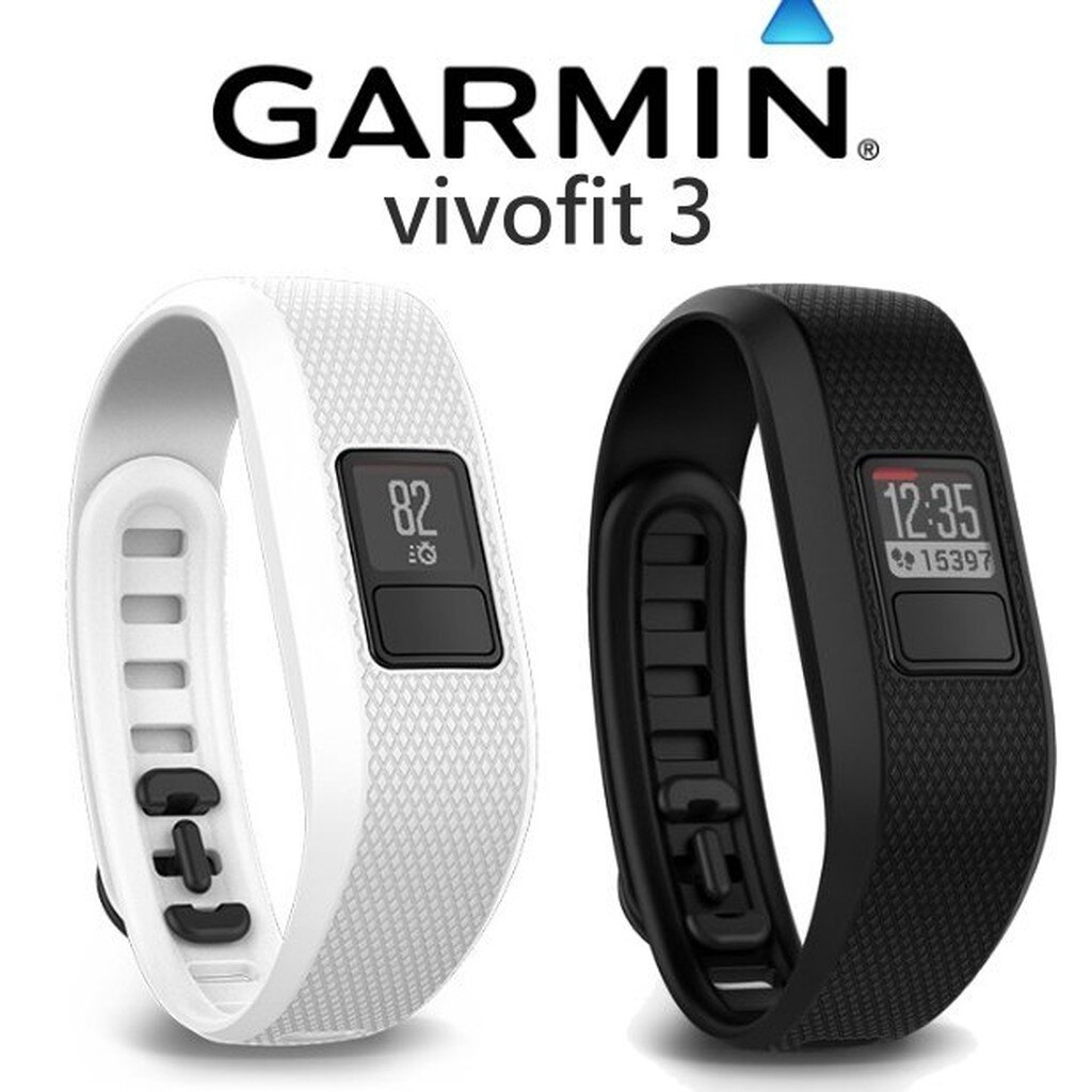 【中壢NOVA-水世界】GARMIN vivofit 3 活動健身手環 運動手環 手錶 待機時間長 活動追蹤 公司貨