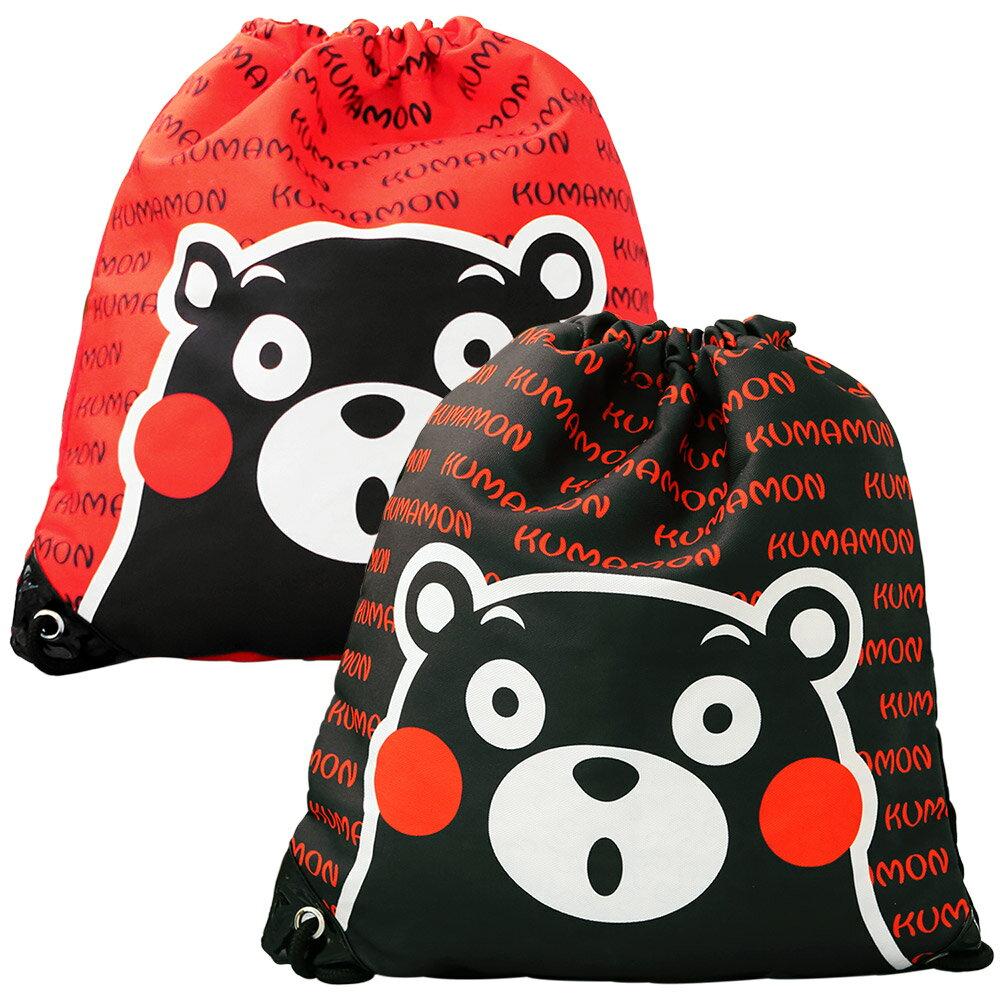 熊本熊束口袋後背包(紅色雙入)