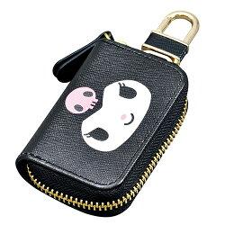 大賀屋 日貨 酷洛米 汽車鑰匙包 鑰匙包 汽車鑰匙 車鑰匙 Kuromi 三麗鷗 Sanrio 正版授權 J00040060