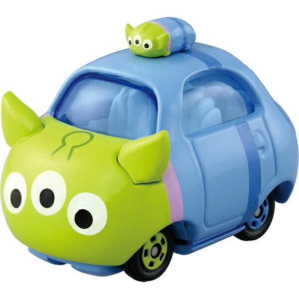 【真愛日本】15122100013TOMY小車-TSUM三眼怪頂端車   迪士尼 玩具總動員 TOY 小車 擺飾 收藏 疊疊樂