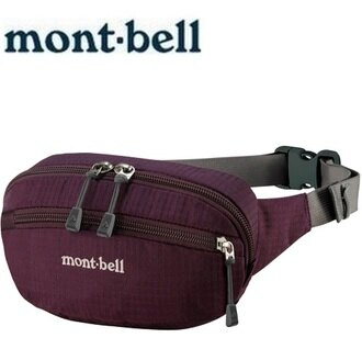 Mont-Bell 休閒腰包/旅行腰包 Delta gusset pouch S 1123763 POPU紫