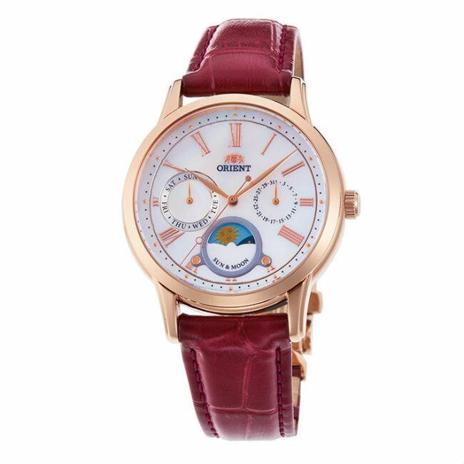 Orient 東方錶 RA-KA0001A (SUN&MOON系列)新日月相錶時尚腕錶/白面35mm
