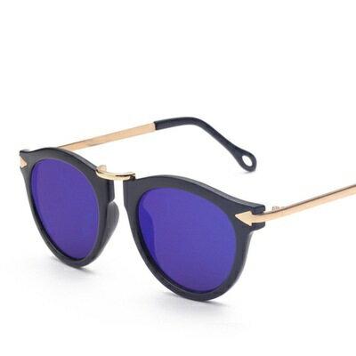 ~太陽眼鏡偏光墨鏡~精緻金屬箭頭裝飾男女眼鏡 7色73en10~ ~~米蘭 ~