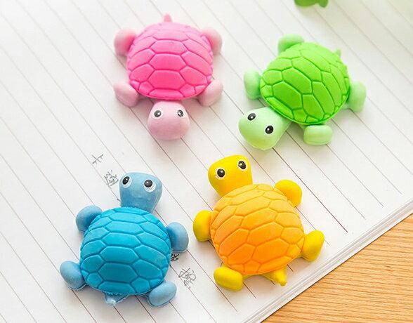 【省錢博士】小烏龜橡皮擦 / 動物橡皮 / 隨機色 - 限時優惠好康折扣