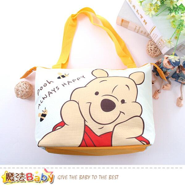手提袋迪士尼小熊維尼正版保溫保冷提袋魔法Baby~f0293