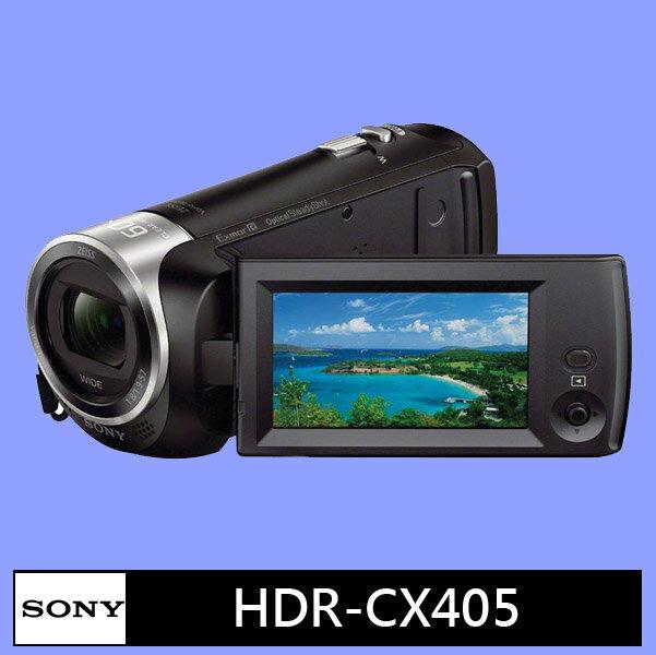 SONY HDR-CX405 數位攝影機★(公司貨)★10/29前送 原電