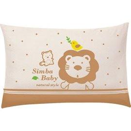 【紫貝殼】小獅王辛巴 Simba 有機棉兒童枕 12個月以上嬰兒適用 S5015