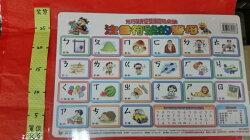 兒巧福 桌墊 注音符號的聲母#台灣 資優雙語 認知桌墊