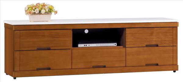 【石川家居】YE-A369-05凱西柚木色5尺石面長櫃(不含其他商品)台北到高雄搭配車趟免運