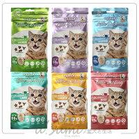 寵物用品Hulucat卡滋化毛潔牙餅-五種口味 貓咪潔牙餅好窩生活節。就在ayumi愛犬生活-寵物精品館寵物用品
