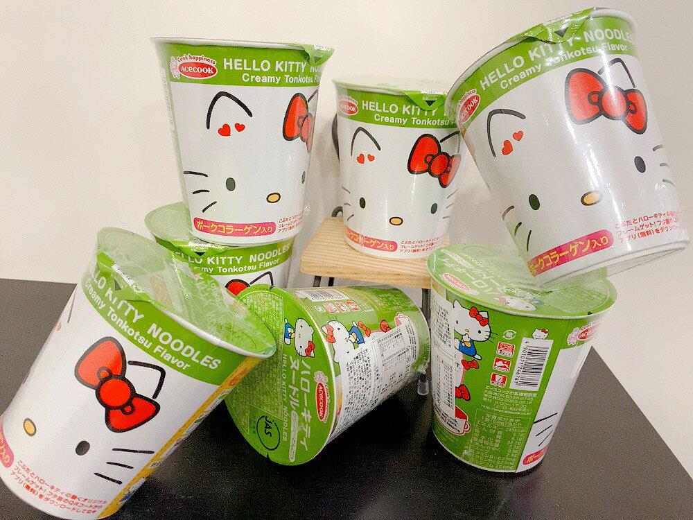👍現貨-日本 豬廚acecook kitty 杯麵 / 豬廚杯麵/ 旨味杯麵 豚骨/ 醬油[FIFI SHOP]