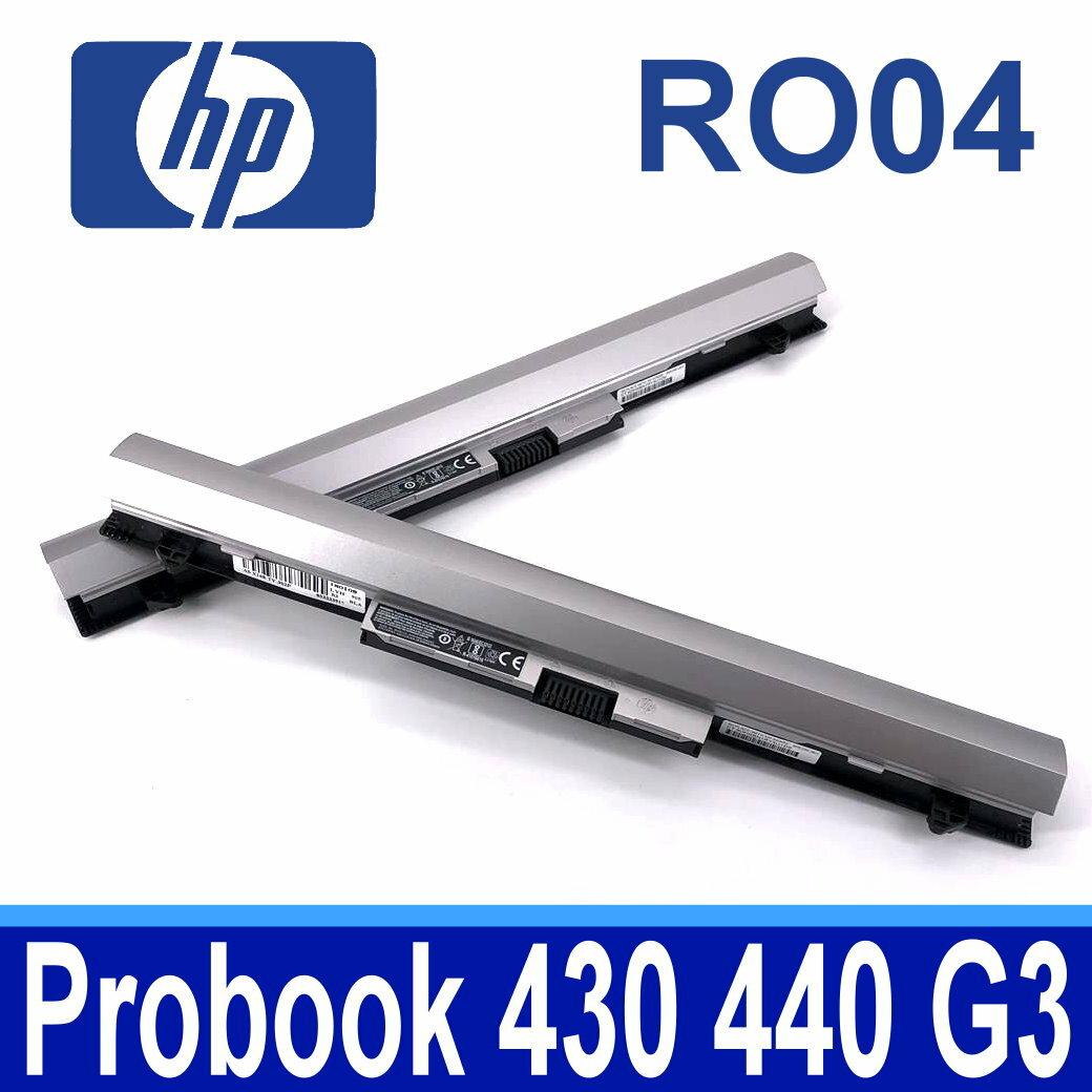HP RO04 4芯 電池 RO04XL R0O4 R0O6XL RO04 RO06XL ROO4 ROO6XL P3G13AA, 811347-001, HSTNN-LB7A, HSTNN-PB6P 430G3.440G3