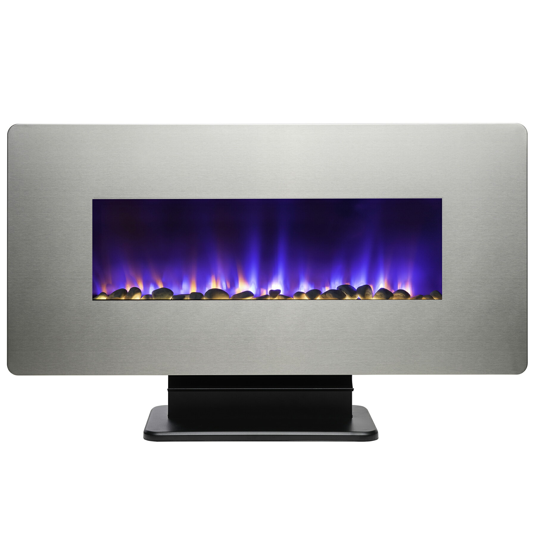 "36"" Freestanding & Wall Mount Convertible Electric Fireplace Stove Heater w/ Remote & Stand 2"