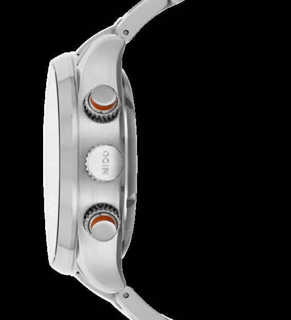 MIDO 美度 M0059141106000 Multifort 先鋒系列60小時動力潛水計時機械手錶 黑 銀 44mm 2