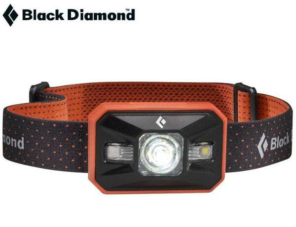 特價出清Black Diamond 頭燈/led頭燈/背包客/健行/登山 Storm 防水高亮度250流明 BD 620626 橘 可觸控