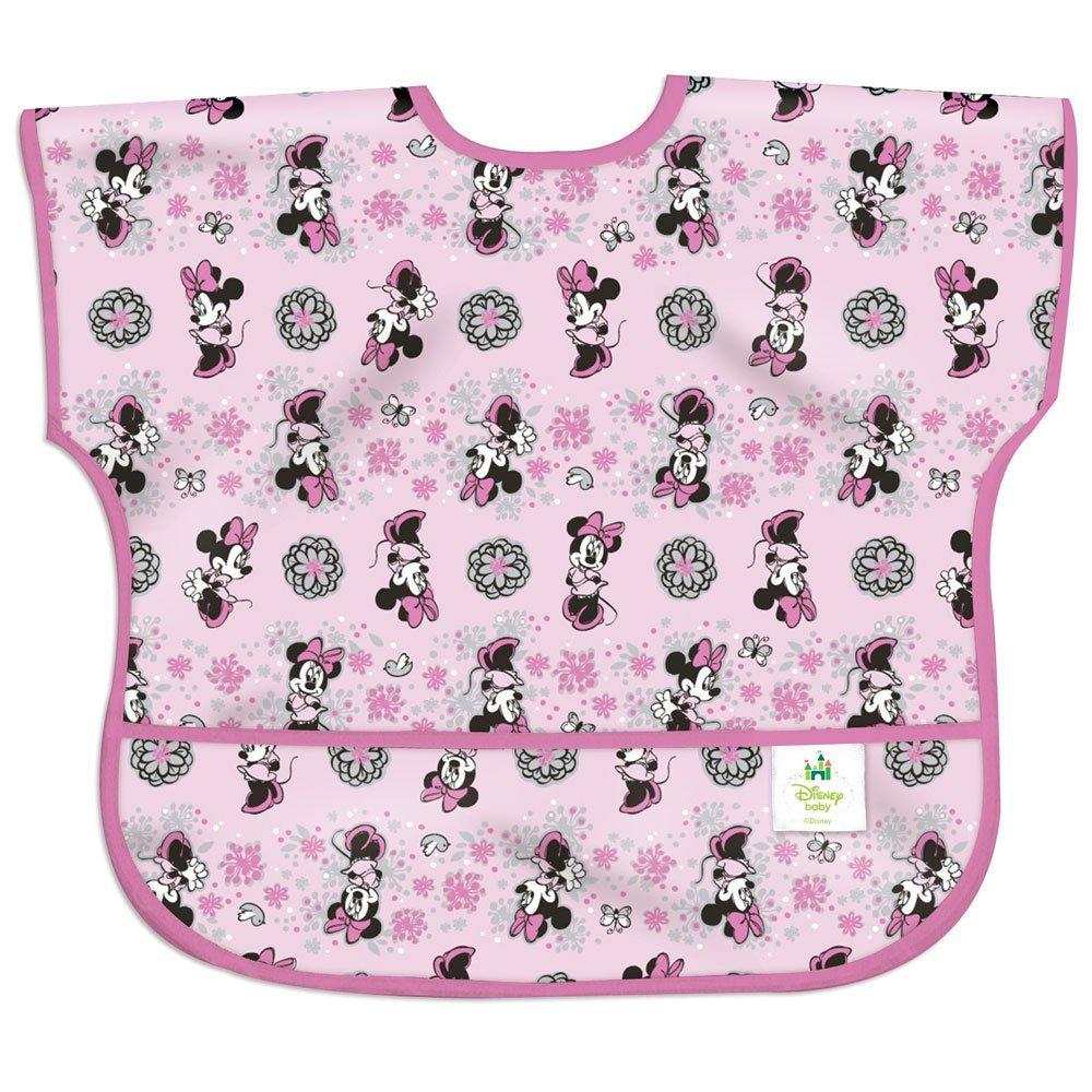 美國 bumkins 防水兒童圍兜 米妮 Spring 1-3歲 短袖 *夏日微風*