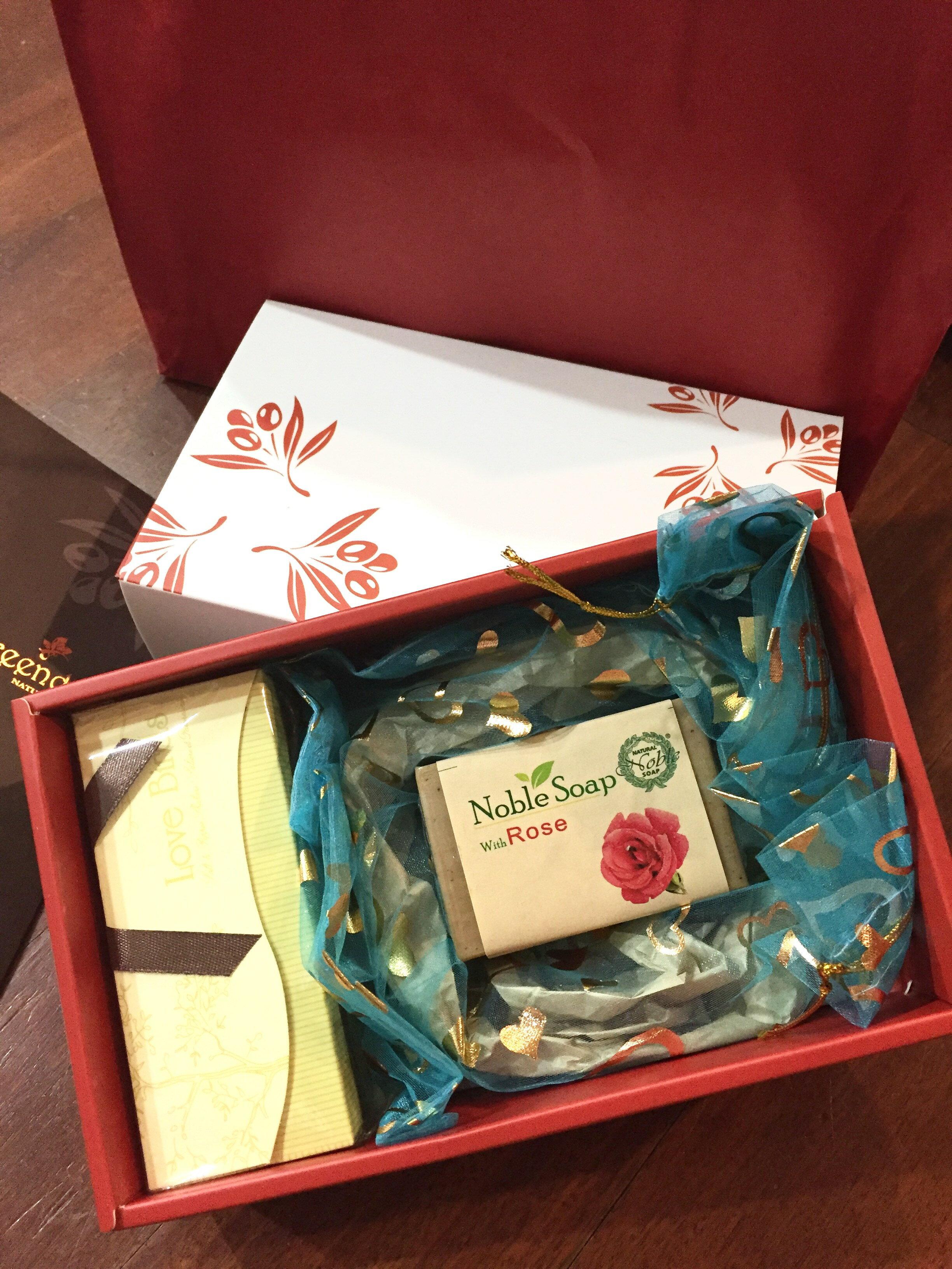 敘利亞手工皂禮盒包裝A款--精美質感/送禮高尚大方