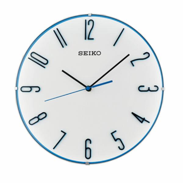 Seiko 精工鐘 (QXA672W) 極簡主義時尚經典雙色標準鐘/30*4.5cm