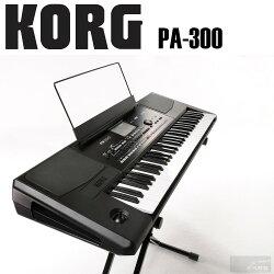 【非凡樂器】KORG PA系列 音樂編曲鍵盤PA300 全新專業編曲鍵盤