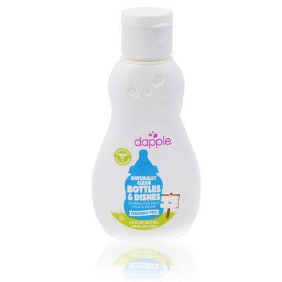 美國 Dapple 無香精奶瓶及餐具清潔液外出瓶 90ML(奶瓶清潔劑)
