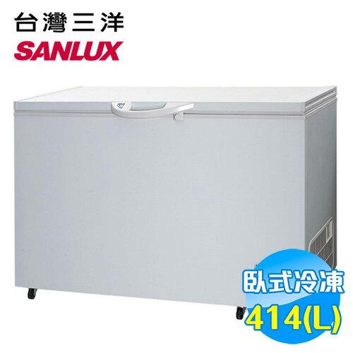 三洋 SANYO 414公升 冷凍櫃 SCF~415T ~送 ~