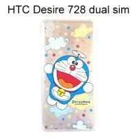 小叮噹週邊商品推薦哆啦A夢透明軟殼 [漸層雲朵] HTC Desire 728 dual sim 小叮噹【正版授權】