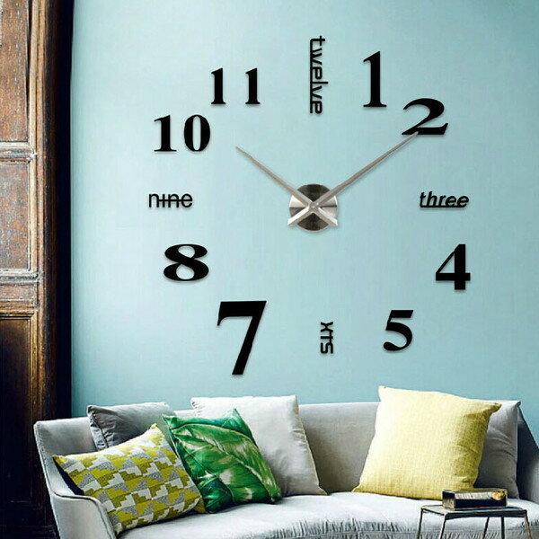 <br/><br/> DIY個性時鐘創意牆貼鐘(現貨+預購)<br/><br/>