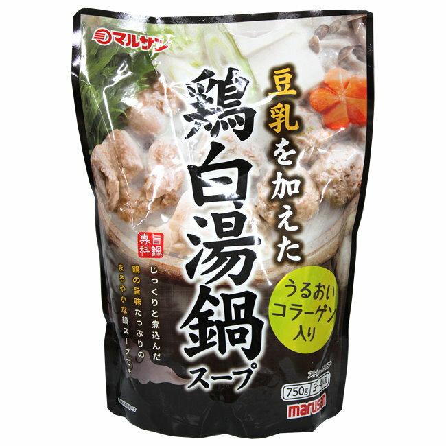 丸三愛火鍋高湯-雞白湯鍋750ml包