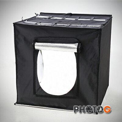 photoG:eBANKLSIB6060柔光箱60公分方形高亮度LED圓形攝影棚(一年保固)