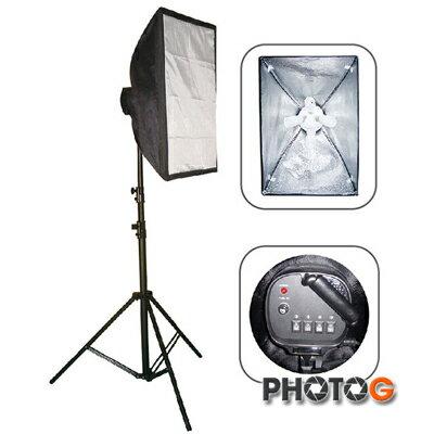 photoG:eBANKVL6080VL60804無影罩60x80mm攝影燈4顆燈泡70W4迴路展開高200CM(單只裝)