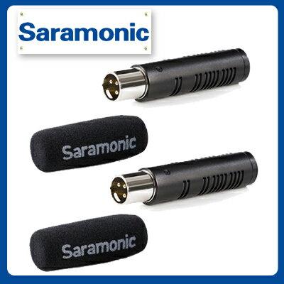 Saramonic 楓笛 SR-AXM3 雙XLR  雙指向性麥克風 (劉氏公司貨) - 限時優惠好康折扣