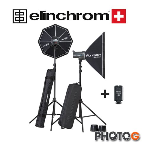 【分期零利率】瑞士 elinchrom D-LITE RX4 RX 4/4 SOFTBOX TO GO 套組  愛玲瓏 (華曜公司貨)